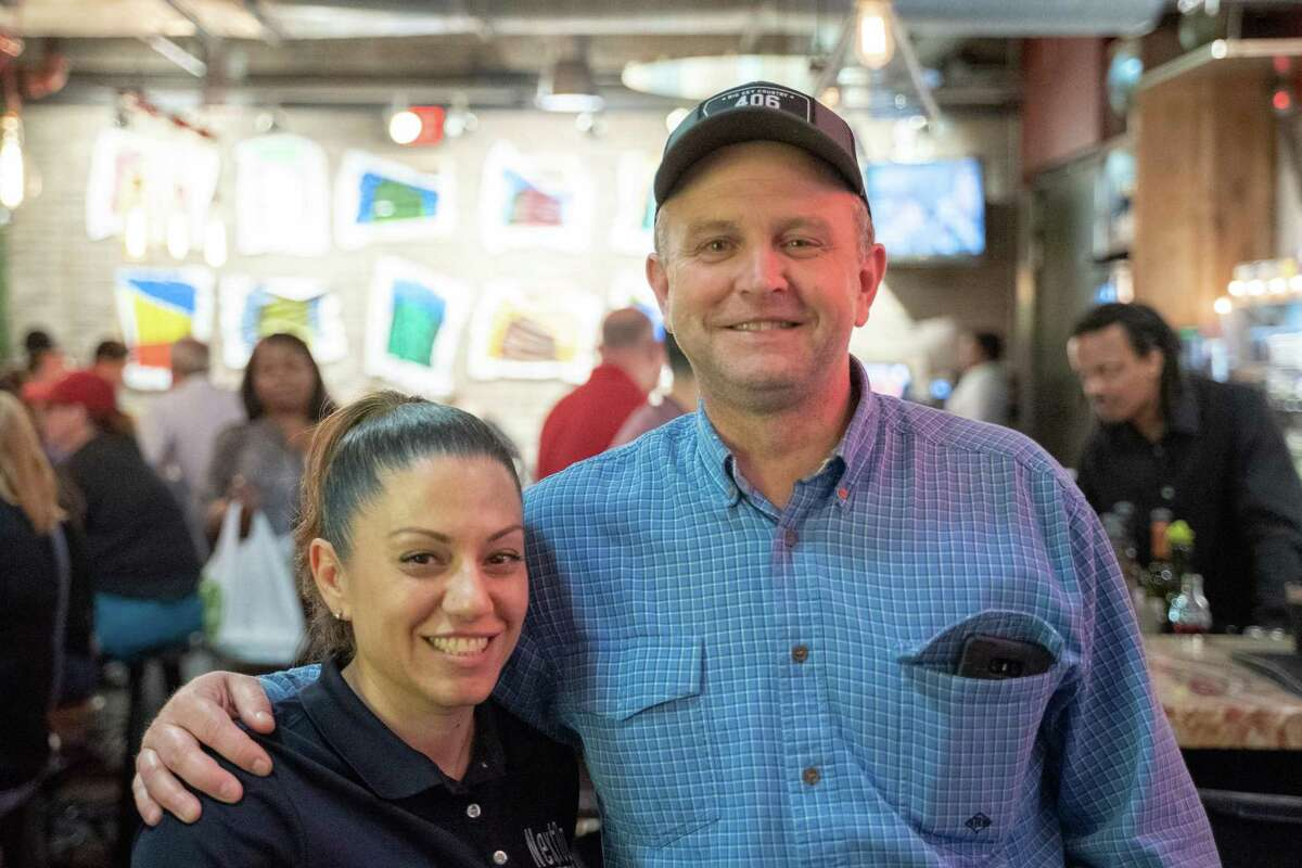 Air Force buddies reunited: NextOp Veterans teammate Dina Anderson reconnected with a fellow Air Force veteran after helping him get a new career in the local industry.