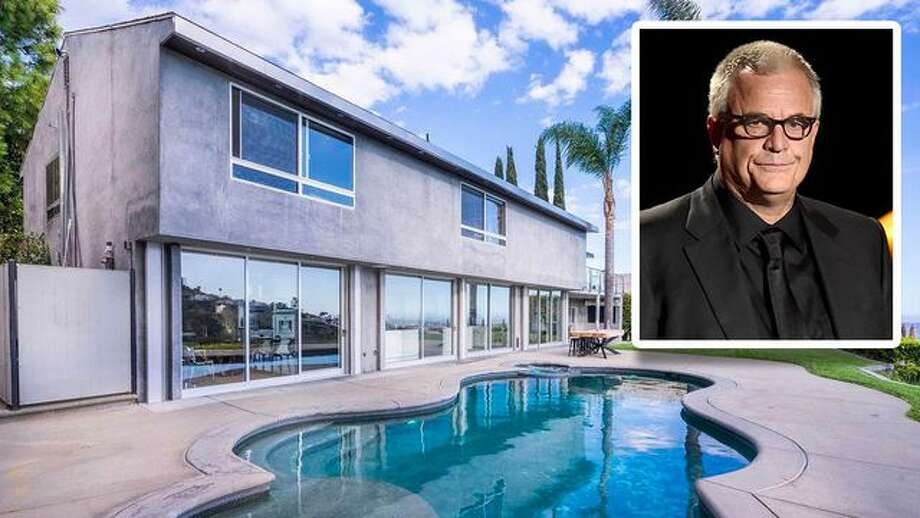 """The modern Los Angeles home belonging to """"The Notebook"""" director Nick Cassavetes is on the market for $4.8 million. Photo: Kevin Winter/Getty Images; Realtor.com"""