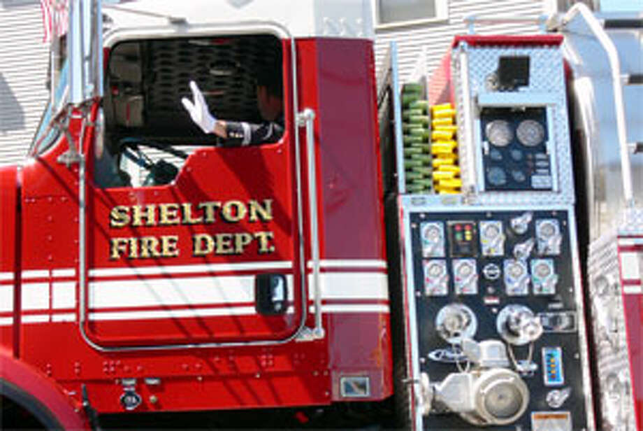 Fire photo of a Shelton Fire Department truck.