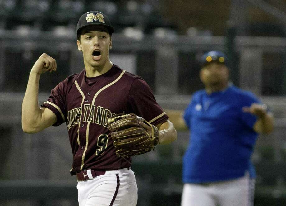 Magnolia West's Connor Phillips was selected in the 35th round of the MLB Draft by Toronto on Wednesday. Photo: Jason Fochtman, Houston Chronicle / Staff Photographer / © 2019 Houston Chronicle