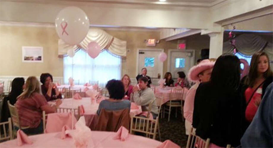 A scene from the 2013 Pinktoberfest event.