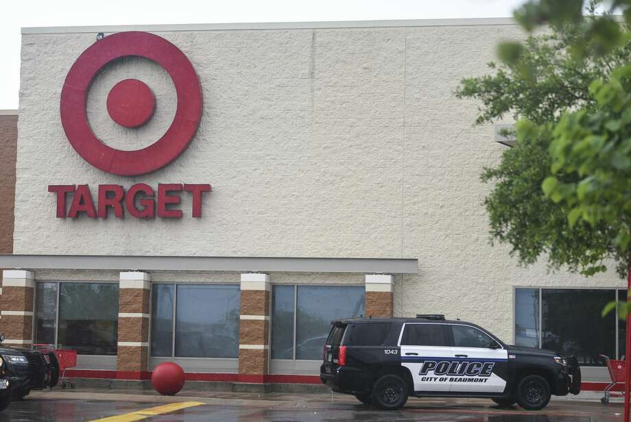 Beaumont Police investigate at Target off of Eastex Freeway Wednesday afternoon after a suspect ran into the store. Photo taken on Wednesday, 06/05/19. Ryan Welch/The Enterprise Photo: Ryan Welch/The Enterprise