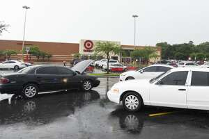 Beaumont Police investigate at Target off of Eastex Freeway Wednesday afternoon after a suspect ran into the store. Photo taken on Wednesday, 06/05/19. Ryan Welch/The Enterprise