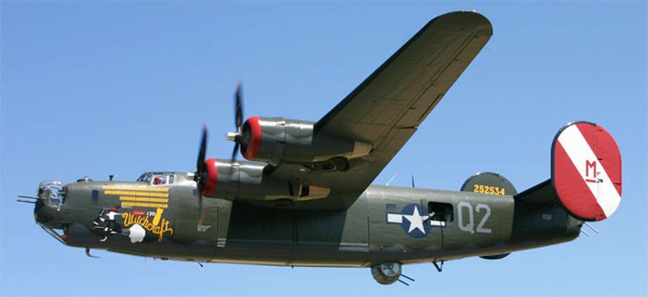 The B-24 Liberator helped win the air war during World War II.