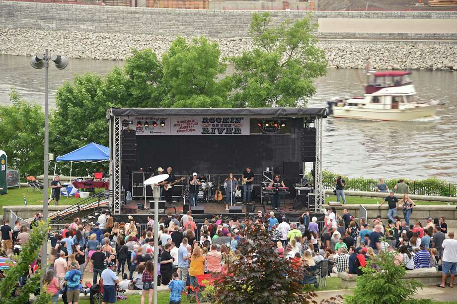 Wednesday's forecast has postponed Troy's Rockin' on the River show featuring Balun. A rescheduled date will be announced. Photo: Lori Van Buren, Albany Times Union / 40047138A