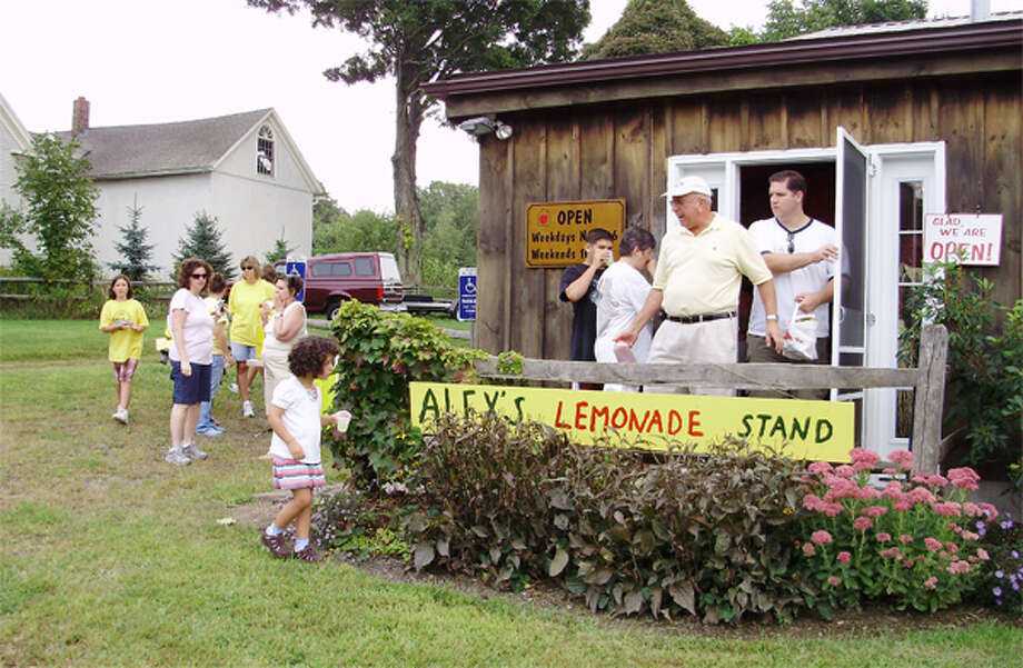 Beardsley's Cider Mill and Orchard on Route 110 in Shelton will host an Alex's Lemonade Stand on Saturday and Sunday to benefit childhood cancer research.