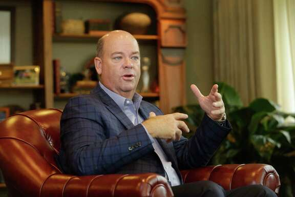 Ryan Lance, ConocoPhillips CEO, in a file photo. ConocoPhillips took a conservative route in a $9.7 billion all-stock deal to snap up Concho Resources, a top producer in the Permian Basin.