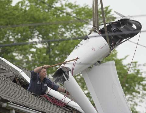 Glider removed from roof of Danbury home - NewsTimes