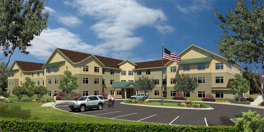 A rendering of the Benchmark Senior Living facility in Shelton that will open in May 2014.