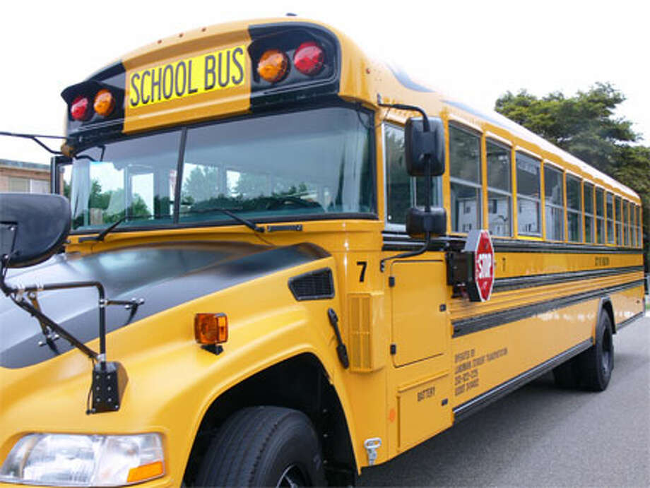 A new Shelton propane-powered school bus.