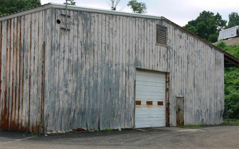 The city-owned maintenance building on Riverdale Avenue, near the WPCA plant, that will be restored.