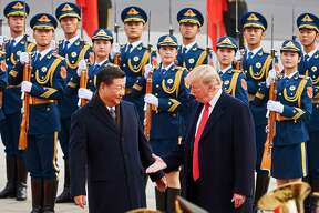President Trump's escalating trade war with China is hurting oil prices.