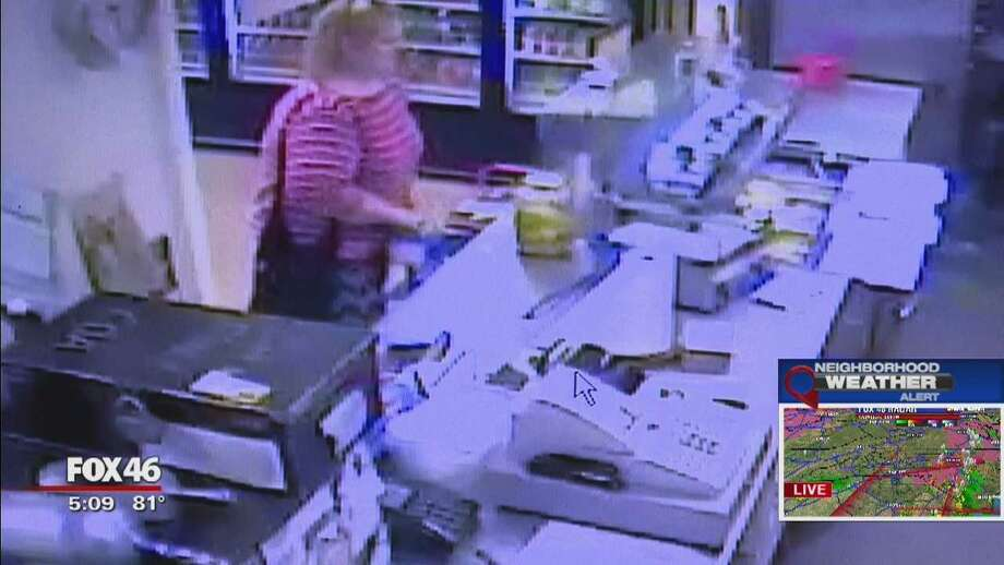 How dare you?' Woman accused of getting away with tip jar theft