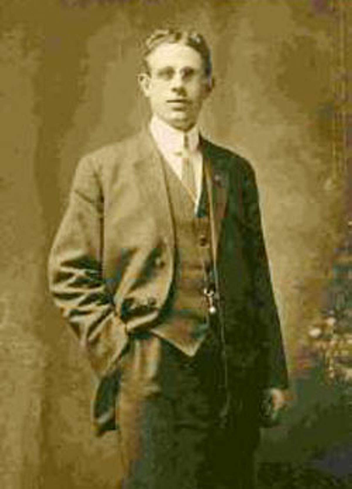 Titanic survivor Oscar Palmquist