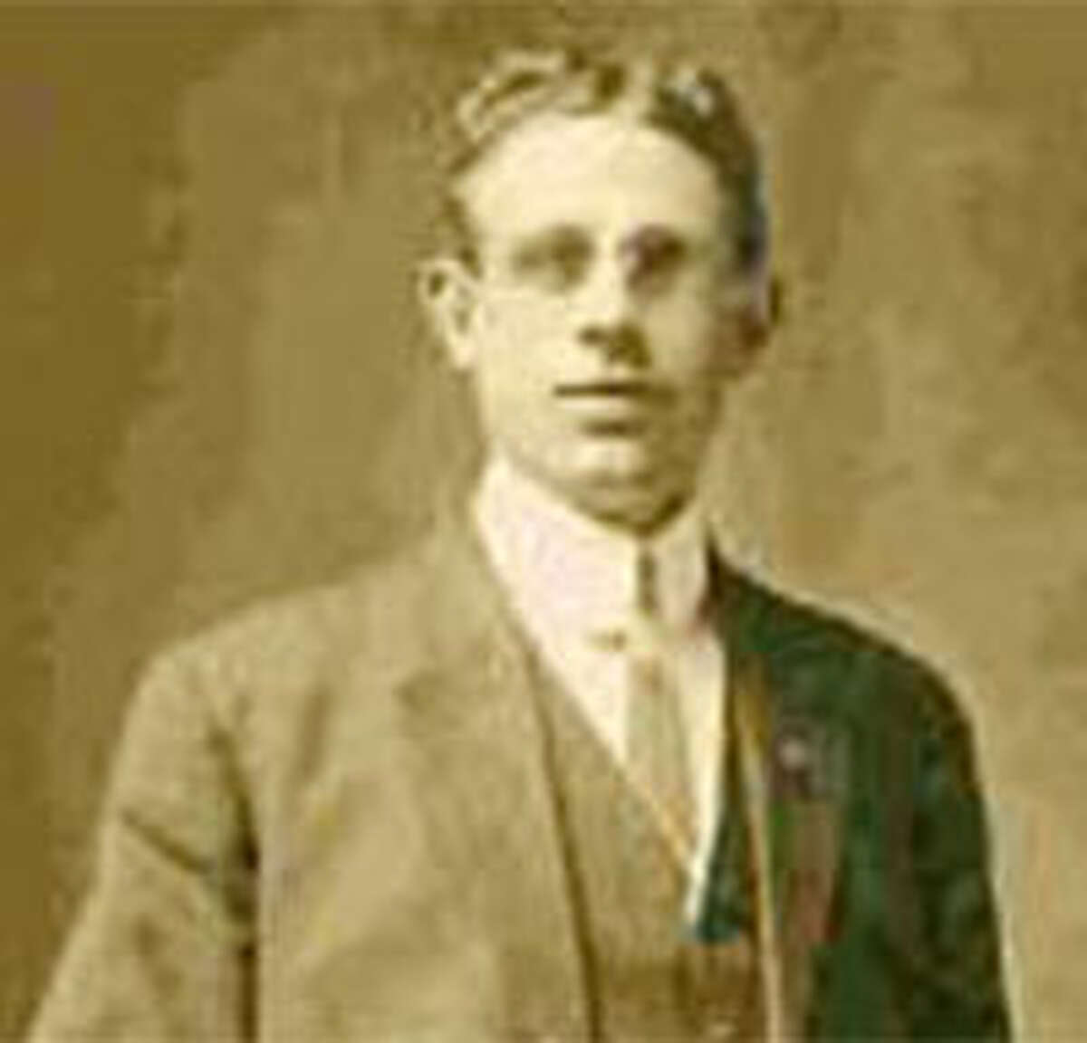 Oscar Palmquist, who died mysteriously in Bridgeport in 1925.