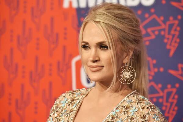 NASHVILLE, TENNESSEE - JUNE 05: Carrie Underwood attends the 2019 CMT Music Awards at Bridgestone Arena on June 05, 2019 in Nashville, Tennessee. (Photo by Jeff Kravitz/FilmMagic)