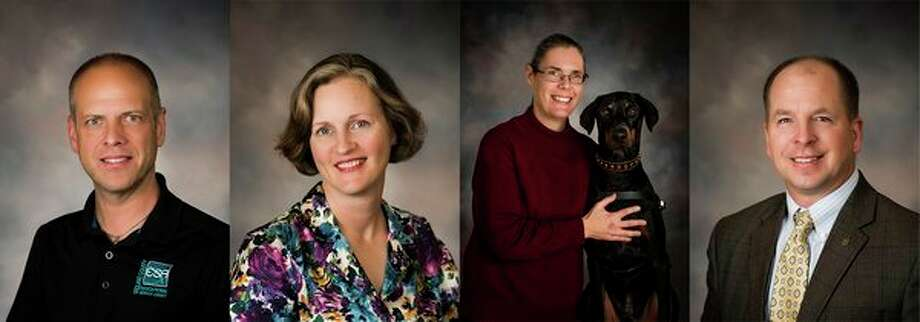 A composite photo features John Searles, Michelle Ursuy, Dena Mooreand Robbie Waclawski. (Photos provided)