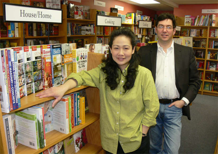 Dorothy Sim-Broder owns Written Words Bookstore on Shelton's River Road with her husband, David R. Broder, a financial consultant. (Photos by Brad Durrell)