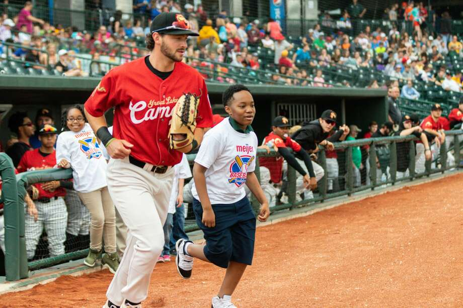 "The Great Lakes ""Camels"" beat the Lansing Lugnuts in a School Kids Day game at Dow Diamond on Wednesday, June 5. Photo: Alex Seder, Alex Seder/Great Lakes Loons"