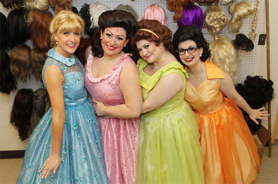 """From left, Caitlin Boles, Casey Perruzzi, Fiona Bryson of Shelton, and Melissa Rampton make up the cast of """"The Marvelous Wonderettes"""" at Center Stage Theatre."""