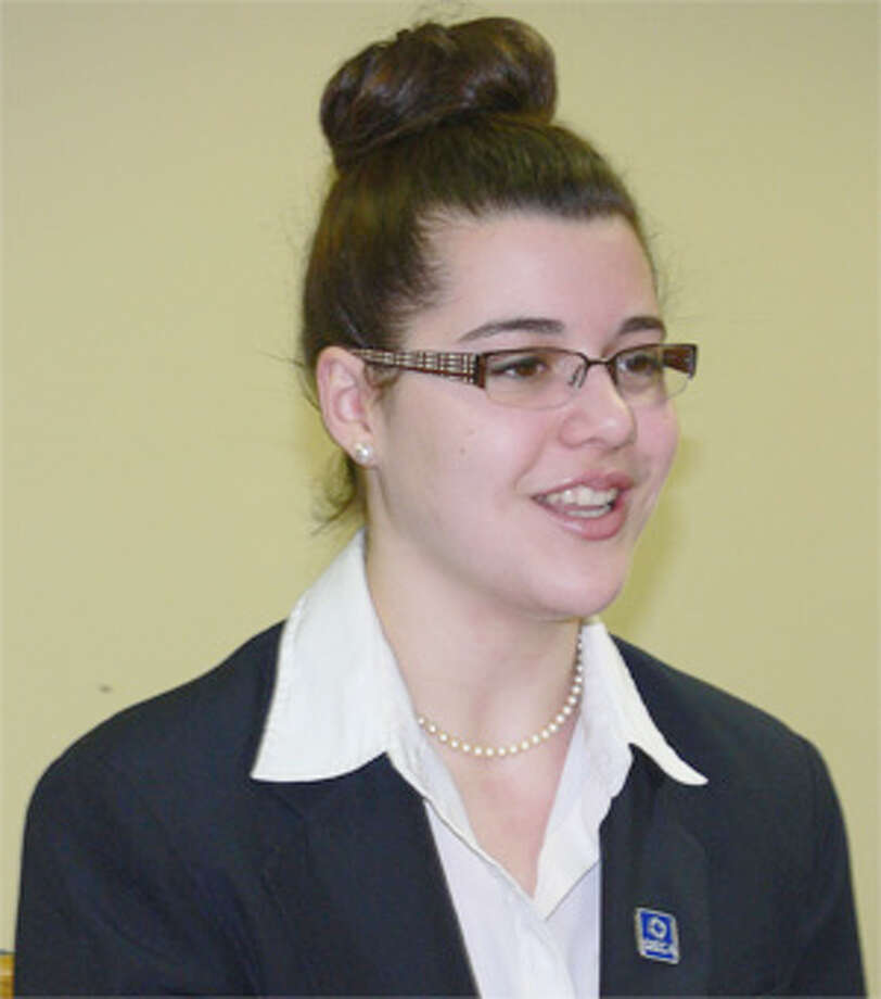 Shelton High School junior Lenni Paolini will be statewide DECA club president during the next academic year.