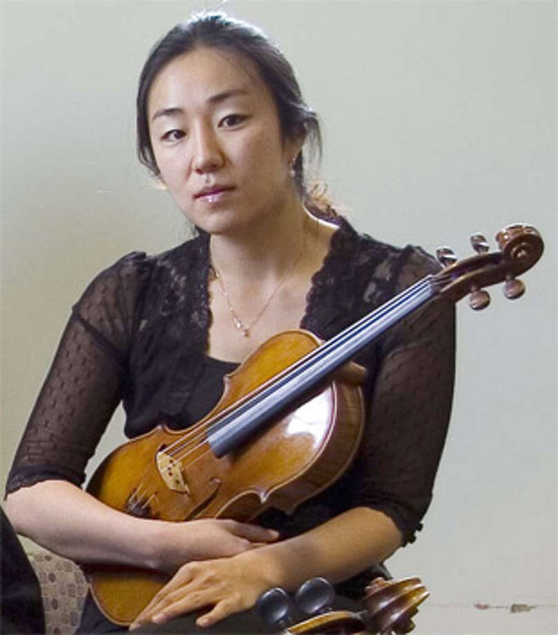 Viola player Ah Young Sung also can perform on the violin and piano.