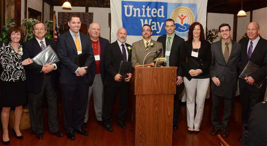 Valley United Way Campaign Cabinet members, from left, are Janice Sheehy, Ron Villani, Chris Hill, Bill Pucci, Fred Ortoli, Tom Steeves, Robert Gambardella, Suzanne Major, Jimmy Tickey and Bill Purcell.