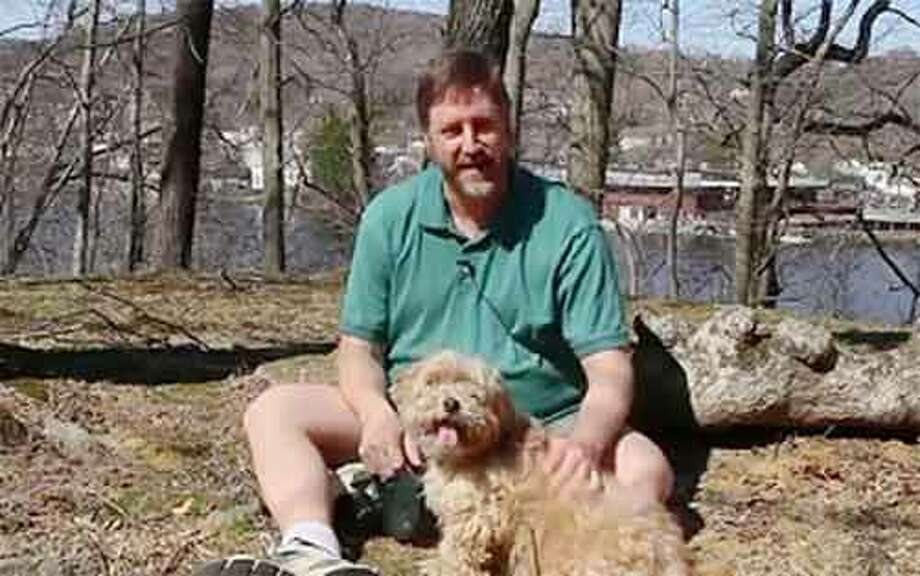 "Marc Weissman, identified as ""Mark"" in the video, appears with his dog and promises to use eco-friendly pet products."