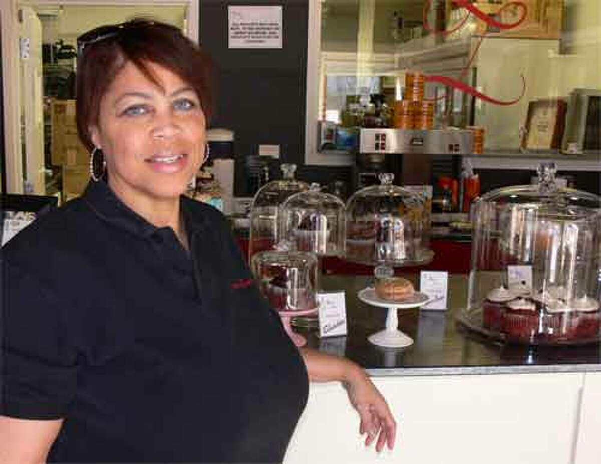Kim Soto is the owner of Queen Zuri, a bakery in downtown Shelton that offers New Orleans delicacies and Southern desserts such as gumbo, pralines, and sweet potato pie. Soto grew up in New Orleans.