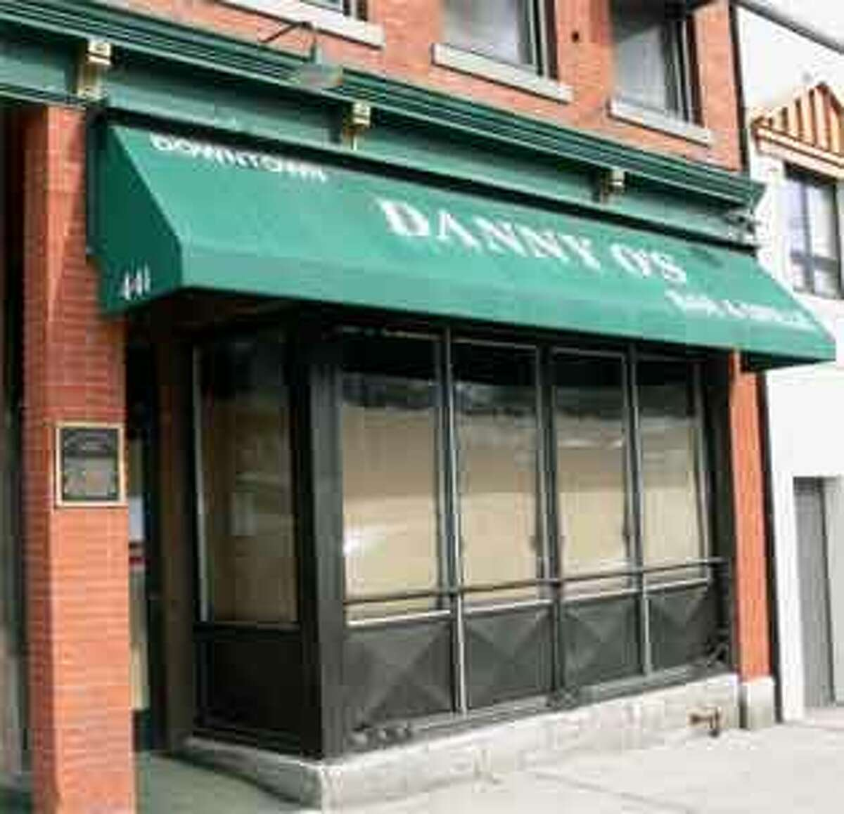 The front of the former Downtown Danny O's, which will be renovated and renamed before opening as a new bar and restaurant.