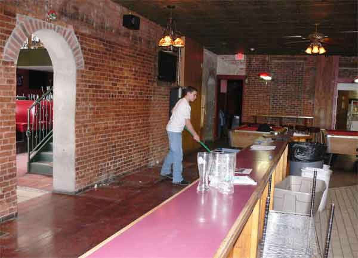 The inside of the former Downtown Danny O's is being refurbished to make way for a new establishment.