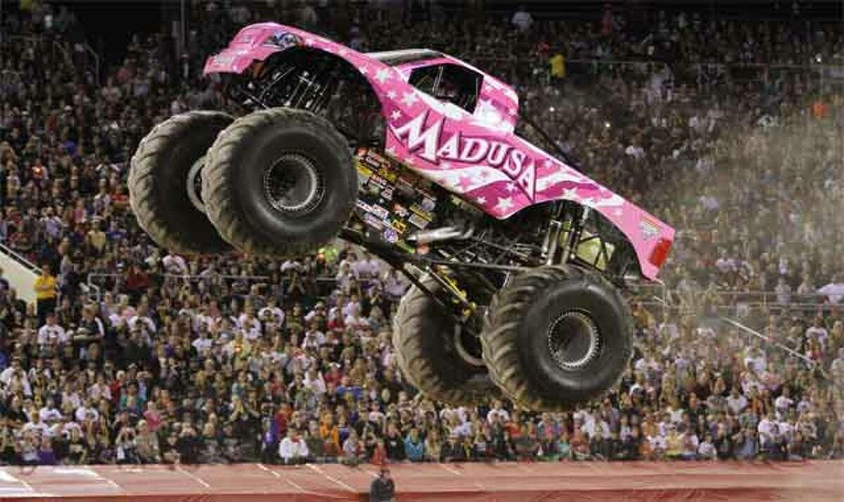The Monster Jam truck Madusa.
