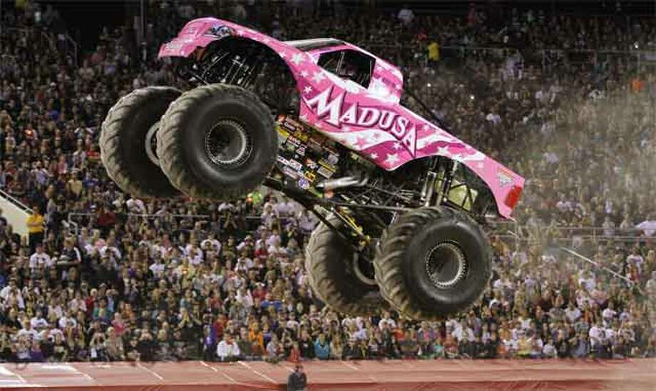 The Monster Jam truck Madusa.