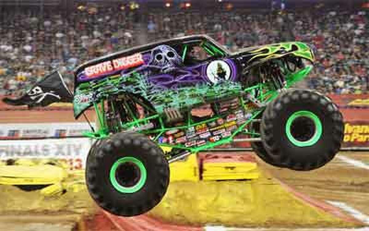 The Monster Jam truck Grave Digger.