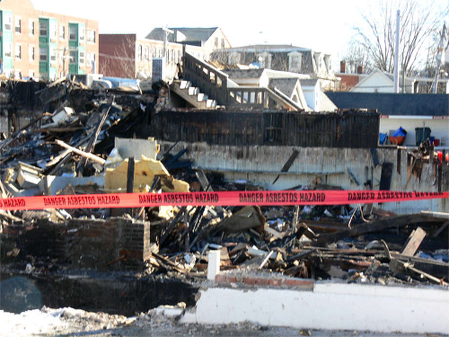 Fire investigators now are looking through the burnt debris from the Jan. 6 blaze in downtown Bridgeport.