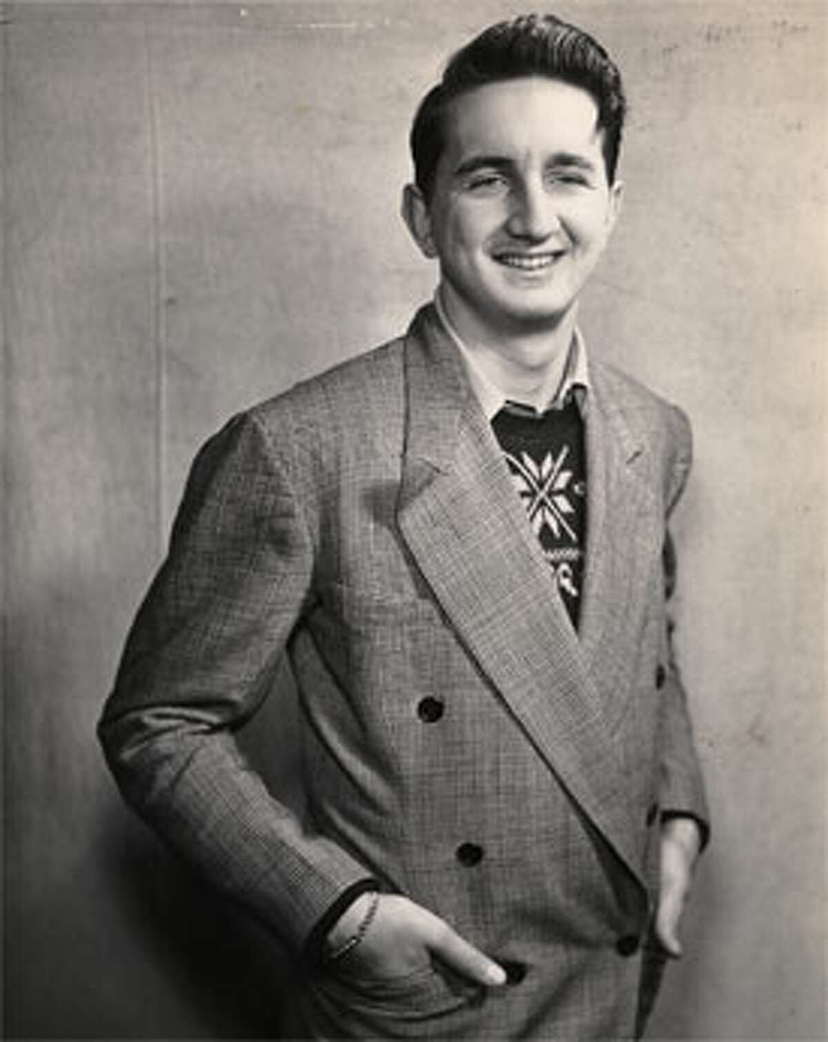 The late Ed Brinsko in his younger days.