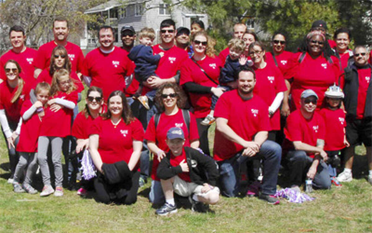 Some members of the SSI team at the March for Babies walkathon.