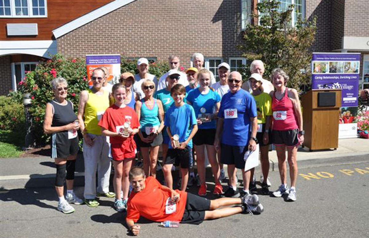 The Wesley Village 5k Road Race in Shelton attracted participants from all generations.