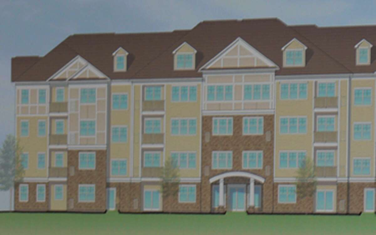 The new architectural design that P&Z members found to be too commercial, lacking a residential look.