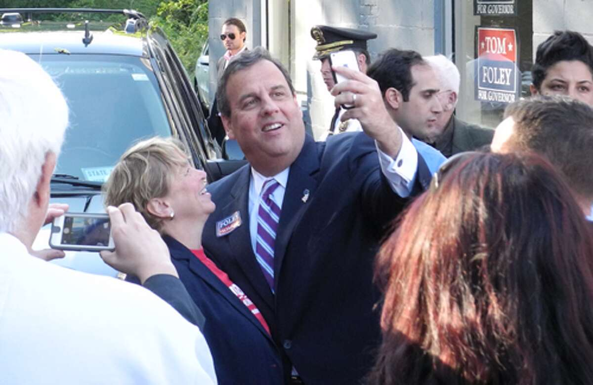 Gov. Chris Christie takes a