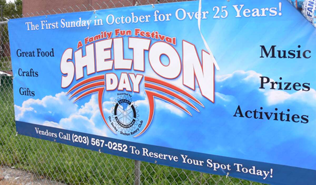 A poster that promotes the upcoming Shelton Day on Sunday, Oct. 5.