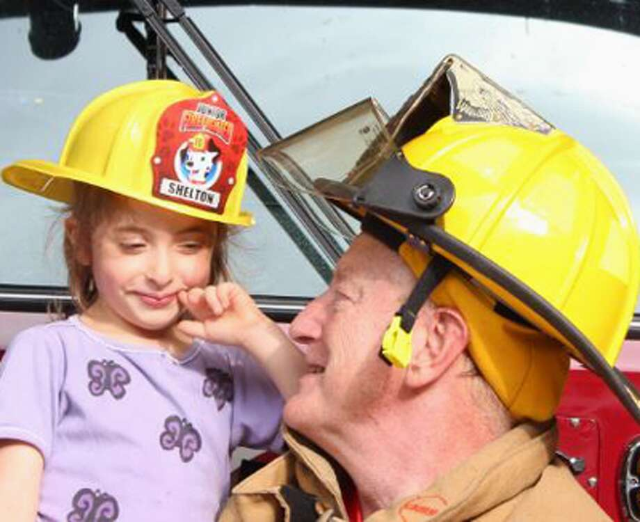 Members of Shelton's four volunteer fire companies teach fire safety to young children by visiting daycare centers and pre-kindergarten classes in the city.