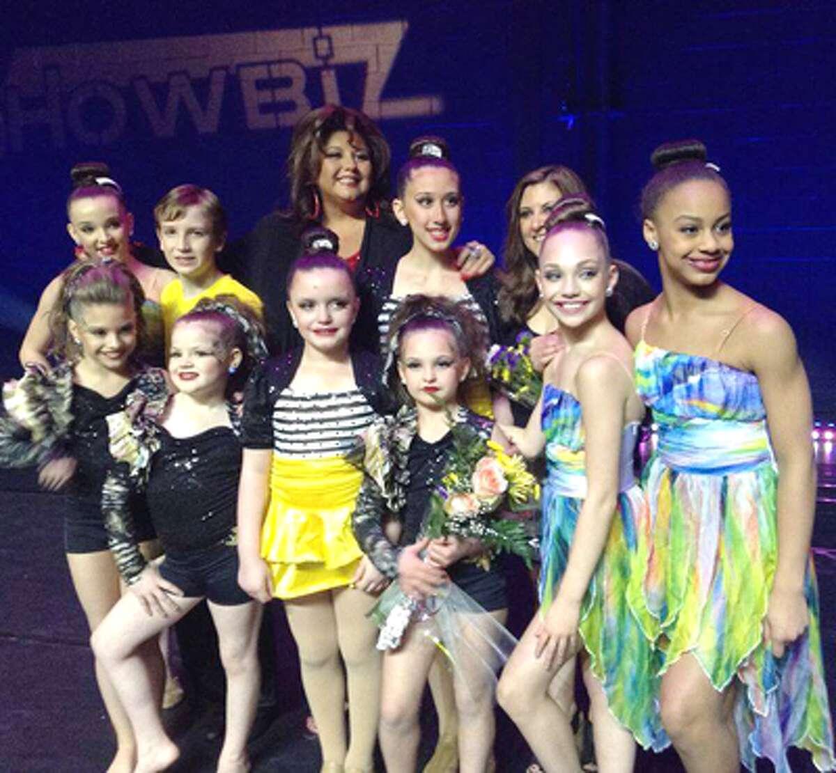 Dancers from the That's ShowBiz! dance studio in Shelton.