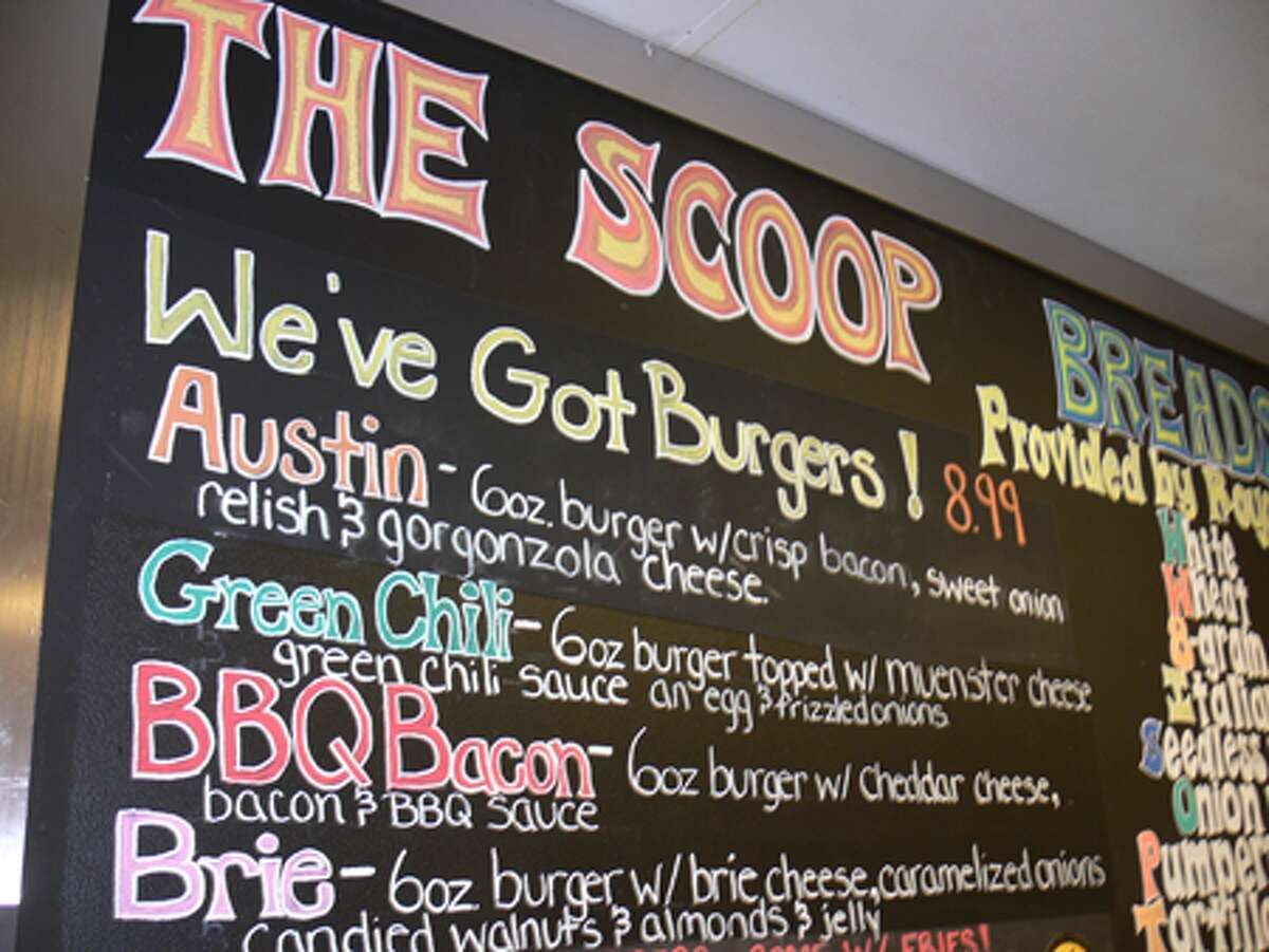 The Liquid Lunch blackboard at the Research Drive location is used to creatively highlight each day's culinary offerings.