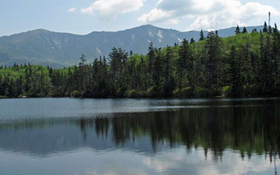 A scene in the White Mountains of New Hampshire.