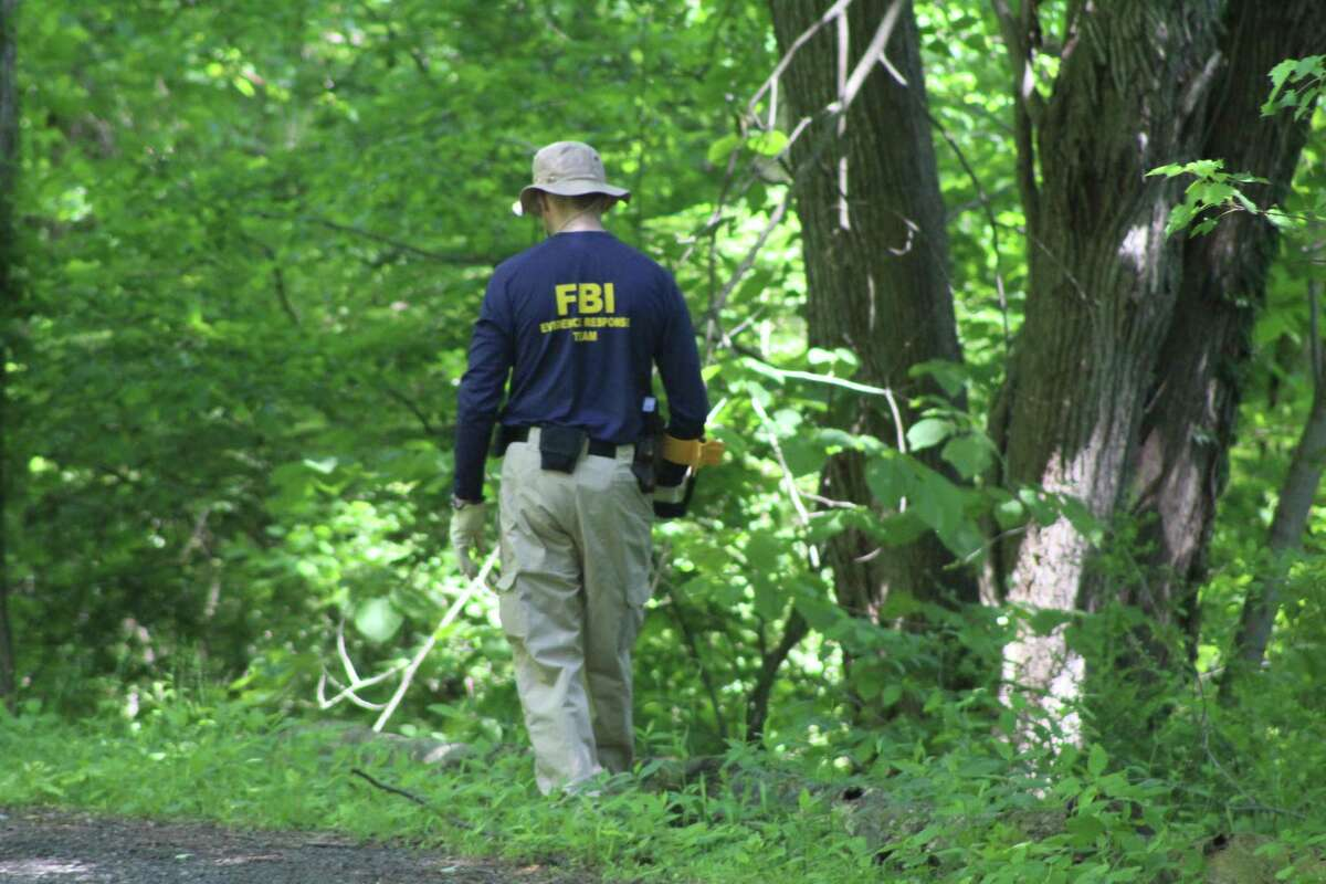 Members of an FBI Evidence Response Team searched Waveny Park Monday, June 3, as part of the search for Jennifer Dulos, the 50-year-old mother of five missing since Friday, May 24.