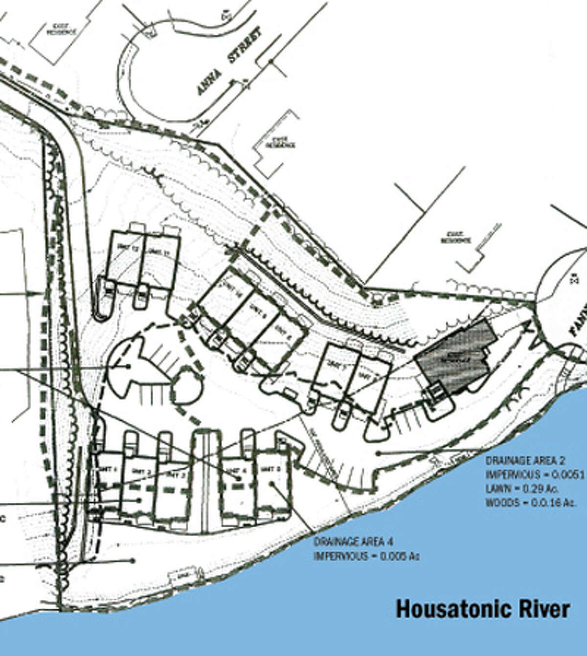 Torrington-based Water's Edge of Shelton LLC wants to build the project on 3.1 acres next to the Housatonic River.