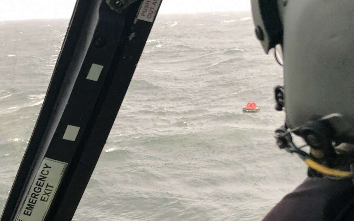 Sabine Pass Coast Guard rescue