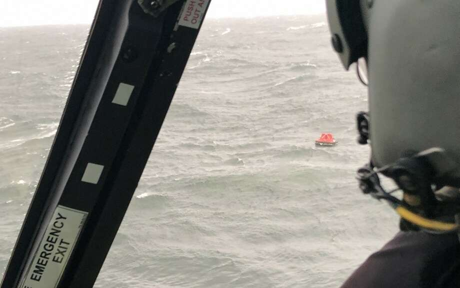 Sabine Pass Coast Guard rescue Photo: Photo Courtesy Of The U.S. Coast Guard