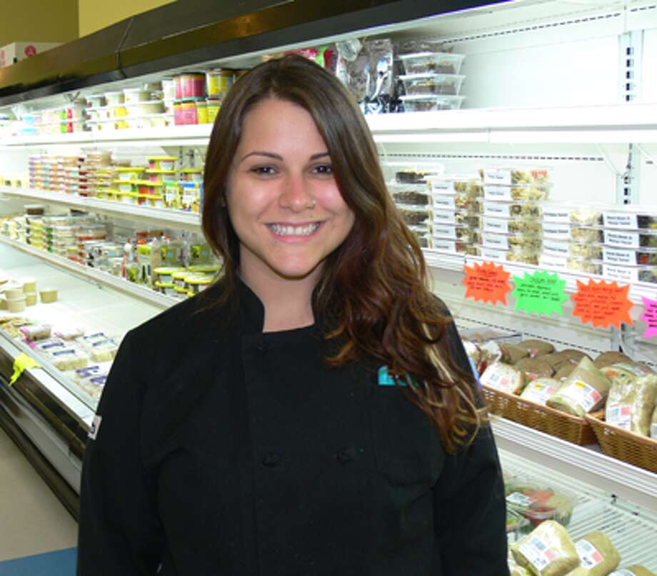 Shelton native and SHS graduate Kristine Cybert is the chef at the new Common Bond Market in Huntington.